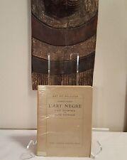 tribal African Art book - Negre 1927 Mask Figure Sculpture Statue