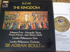 SAN 244-5 Elgar The Kingdom / Price / Boult etc. 2 LP box HP LIST