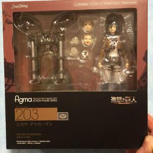 Figma Attack On Titan: Mikasa Ackerman #203 Action Figure Japan Import