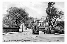 pt1135 - Tram Terminus , Fulwood , Sheffield , Yorkshire - photo 6x4