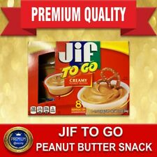 PEANUT BUTTER SNACK JIF TO GO 051500241363 Jif To Go Creamy Silk Cups, 8 PK