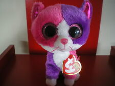 Ty Beanie Boos PELLIE the cat 6 inch NWMT. Claire's Exclusive. IN HAND NOW.