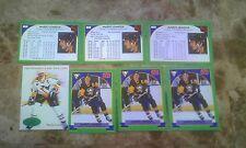 1993 PARKHURST EMERALD MARIO LEMIEUX  HI#+3 CARD ALL WORLD PROMO 3 LANGUAG $80 G