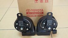GENUINE TOYOTA ELECTRIC TWIN HORN Frequency 400Hz low tone 500Hz high tone
