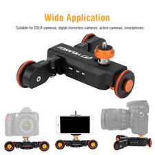 YELANGU L4X Electric Camera Auto dolly Video Car Motorized Track Slider Skater