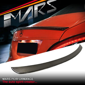 AMG CLS63 Style Carbon Rear Trunk Lip Spoiler for Mercedes-Benz CLS C218 W218