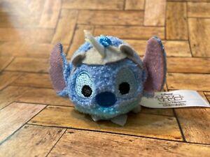 Disney Tsum Tsum Micro Mini Plush Hong Kong Fun Fair Rhino Stitch US SELLER* NEW