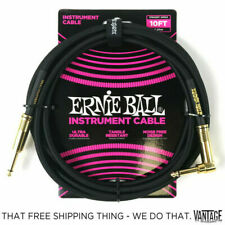 Ernie Ball Instrument Cable Black 10 Ft. P06081