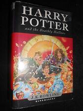 J K Rowling: Harry Potter et la mortellement Hallows 2007-1st - roman fantastique HB/DJ