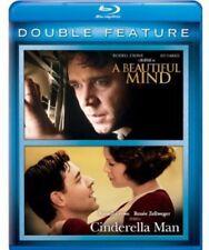 A Beautiful Mind / Cinderella Man [New Blu-ray] 2 Pack, Snap Case