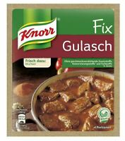 3 x Knorr Fix Gulasch Gulash Sauce - New & Fresh from Germany !
