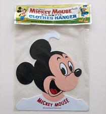 Vintage Mickey Mouse Plastic Kids Clothes Hanger