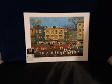 VINTAGE 1991 RALPH FASANELLA HAND SIGNED WITH FIRST DAY CANCELLATION
