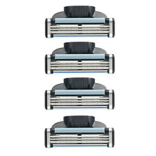 New 16Pcs 4Pack Razor Blades for Gillette MACH 3 Shaving Trimmer Cartridges