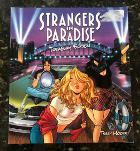 Strangers In Paradise Treasury Edition Oversized 2004 TPB Terry Moore- 224 Pages