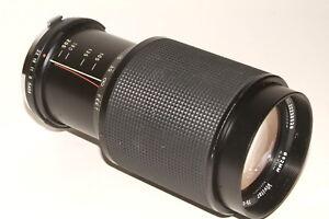 Olympus OM fit Vivitar fast f3.8 75-205mm lens