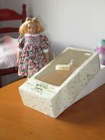 "12"" Heidi Ott Handmade Little Ones Elizabeth (M65) 2-pcs Dress, Bloomers, Stand"