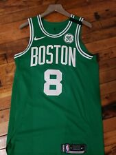 Shane Larkin Boston Celtics Authentic Green Game Worn Jersey NBA Nike Size 46