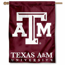 Texas A&M Aggies University College House Flag