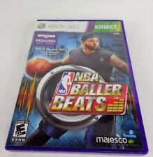 NBA Baller Beats for Kinect Microsoft Xbox 360, 2012 Complete