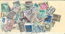 Belgium: Lot of 100 different stamps used. BL20