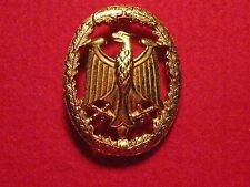 German Armed Forces Badge for Military Proficiency  - Gold