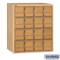 Salsbury Americana Mailbox - 16 Doors - Rear Loading 2116RL MAILER NEW