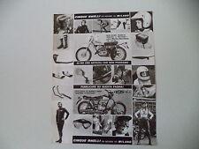 advertising Pubblicità 1974 CINQUE ANELLI e AMF HARLEY DAVIDSON SX 250
