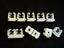 10x Fischer Rohrclip 9-12mm  Rohrschelle Kunststoff für Ölleitung 9-12mm