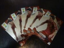 Panini Prizm Fifa World cup 2014 David Villa 5 card Lot Spain