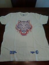 TIGER BEER GILDAN SOFT STYLE 100% COTTON T SHIRT NEW SIZE MEDIUM