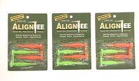 "Align Tee 3"" Flexible Golf Tees 3 Packs of 4, Driver Distance 12 Total"