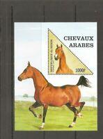 Benin SC # 1054 Arabian Horse  . Souvenir Sheet.  MNH