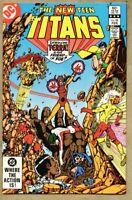New Teen Titans #28-1983 nm 9.4 1st Terra cover / George Perez