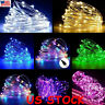 Waterproof 50/100/200LED USB Copper Wire LED String Fairy Light Strip Xmas Party