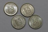 FINLAND 200 MARKKAA - 4 COINS SILVER COLLECTION WITH RARE 1959 B34 RR19