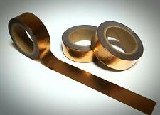 Washi Tape Sample 15mm x 1m Glitzer Rose Gold Nr.24