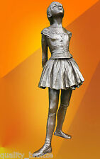 EDGAR DEGAS BALLERINA DANCER, SIGNED BRONZE STATUE FIGURE SCULPTURE HOT CAST