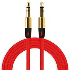 Aux Cable 3.5mm 1M Jack to Jack Male Stereo Audio lead  for headset Car PC Phone