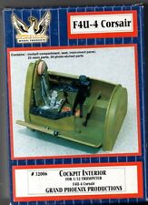 GRAND PHOENIX MODEL PRODUCTS 32006 F4U-4 CORSAIR COCKPIT INTERIOR 1/32 RESIN KIT
