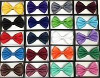 Plain color Bow Tie Tuxedo Classic Bow Neck Tie Pure Neck wear Men Bow Tie