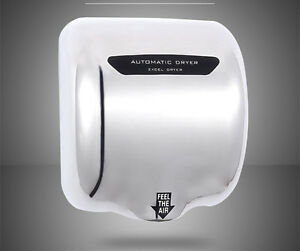 COMMERCIAL HEAVY DUTY 1.8KW HAND DRYER ELECTRIC AUTOMATIC HOT WARM AIR DRIER UK