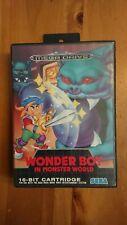 Wonder boy in monster world-sega mega drive game-complete