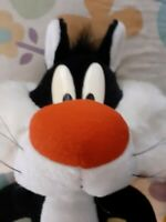 RARE VINTAGE 1993 Sylvester Cat Plush Soft Toy Warner Bros Looney Tunes 17inches