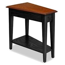 Leick Furniture 9035-SL Recliner Wedge End Table-Black