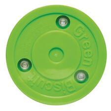 Green Biscuit Stick handling Puck 75213. Street-y inlinehockey Puck, patines,