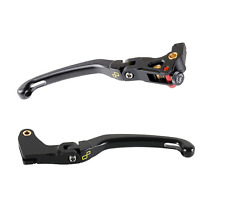 Pair de leviers Lightech Triumph Daytona 675 R 11>16; frein Réglable par dx
