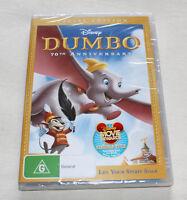 Disney Dumbo (DVD, 2010) 70th Anniversary New Sealed