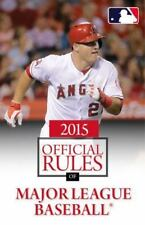 2015 Official Rules of Major League Baseball, Triumph Books