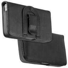 Diseño elegante bolso cruzadas negro f T-Mobile g2 Touch